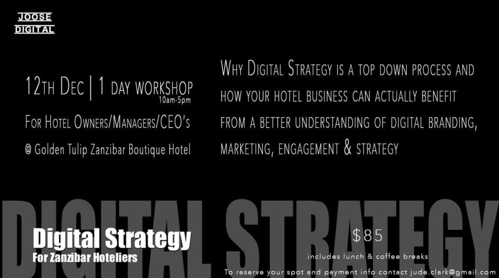 Digital Strategy Workshop - Joose Digital